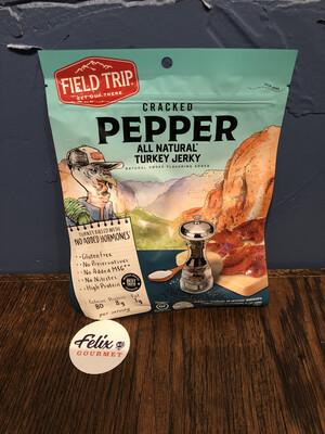 Field Trip Turkey Jerky Cracked Pepper 2.2 oz