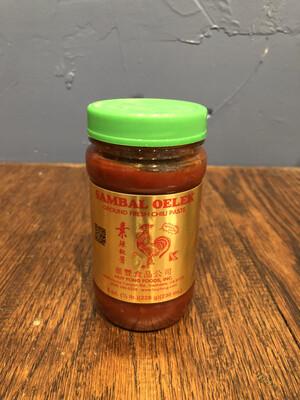 Sambal Oelek Chili Paste 8 oz