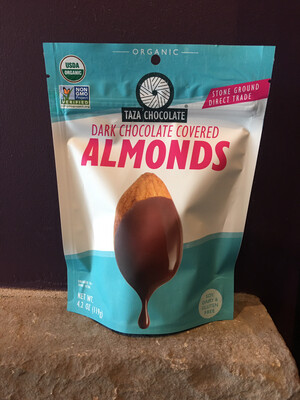 Organic Chocolate Covered Almonds (4.2 oz Bags)