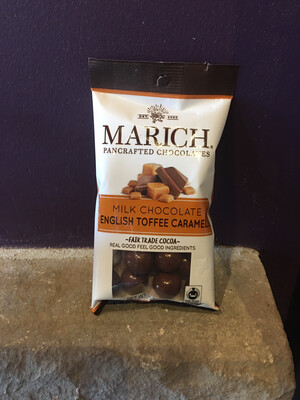 Marich Chocolate Covered Toffee Caramel 2.1 oz