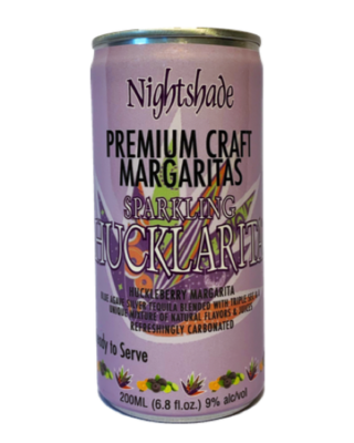 Nightshade Hucklarita Craft Margarita - 4 Pack