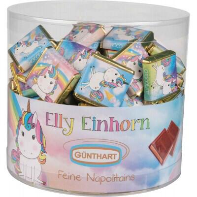 Elly Einhorn Unicorn Chocolate Square