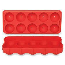 Cannonball ice ball tray, 2 pc