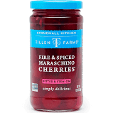 Tillen Farms Fire & Spiced Maraschino Cherries 13.5 oz