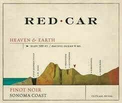 Red Car Pinot Noir 'Heaven and Earth' 2015