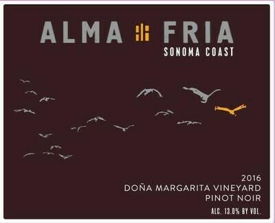 Alma Fria Pinot Noir 'Dona Margarita Vineyard' 2014