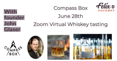 Compass Box Whiskey Tasting