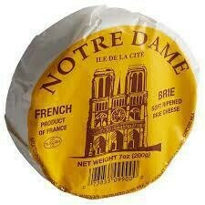 Notre Dame French Brie 7 oz