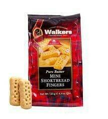 Walkers Cookie Shortbread Fingers 4.4 oz
