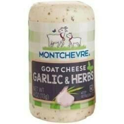 Montchevre Goat Cheese Garlic & Herbs 4 oz