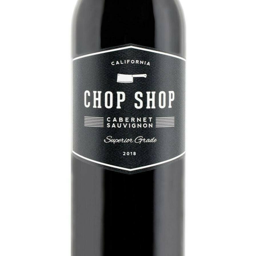 Chop Shop Cabernet Sauvignon 2018 5 oz Glass