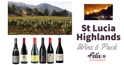 St Lucia Highlands Wine 6 Pack Pre Order