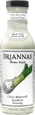 Briannas Ranch Dressing 12 oz