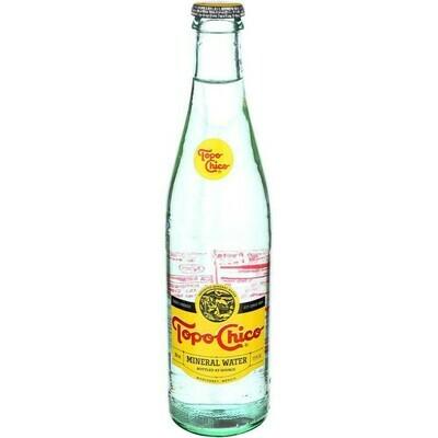 Topo Chico Mineral Water Glass 12 oz