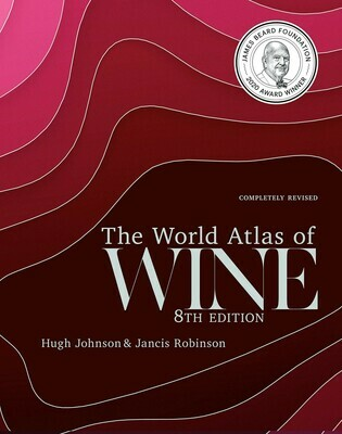 World Atlas of Wine 8th Edition Hardcover