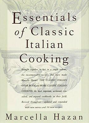 Essentials of Classic Italian Cooking Hardcover