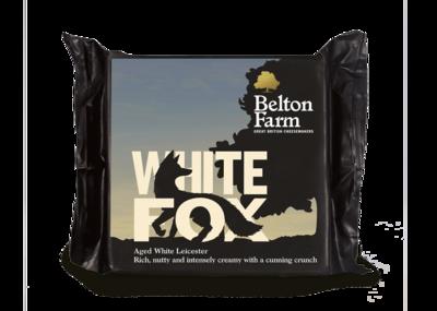 Belton Farm White Fox Aged White Leicester Cheese 7 oz