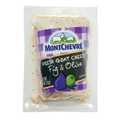 Montchevre Cheese Goat Log with Fig 4 OZ