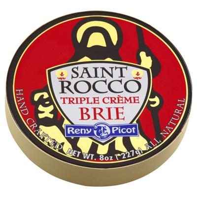 Saint Rocco Triple Creme Brie 8 OZ