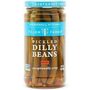 Tillen Farms Bean Dilly Crispy Hot & Spicy 12 oz