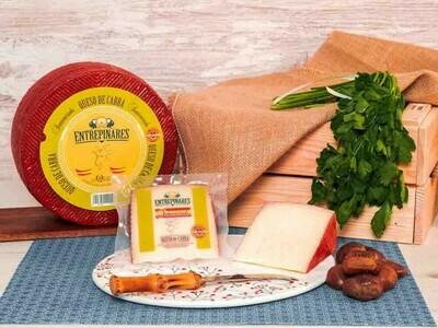 Entrepinares Queso de Cabra Semicurado Goat Cheese 5.3 oz