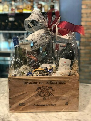 Premium Wine Lovers Basket