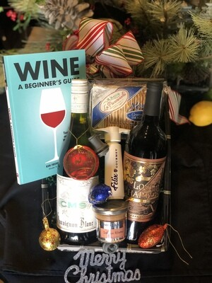 * Felix Gourmet Wine Basket