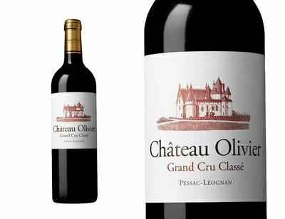 Chateau Olivier Grand Cru Rouge Bordeaux Pessac-Leognan 2015
