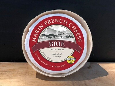 Marin French Cheese Brie Rouge Noir 8 oz