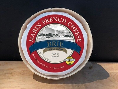 Marin French Cheese French Brie Triple Creme 8 oz
