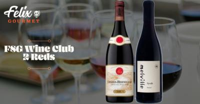 FSG Wine Club Jan 29th - 2 Reds