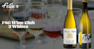 FSG Wine Club Jan 29th - 2 Whites