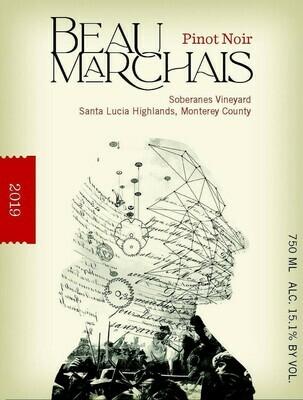 Beau Marchais Pinot Noir Soberanes 2019