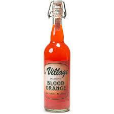 Le Village Sparkling Blood Orange lemonade