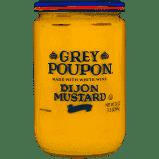 Grey P Mustard Dijon Glass Jar 8 oz