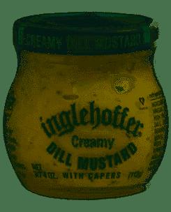 Ingfler Mustard Dill Creamy 4 oz