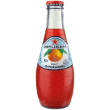 San Pellegrino Organic Aranciata Rossa Glass 6.75 oz