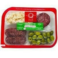 Olli Salami Antipasto Tray with Olives 12 oz