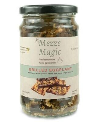 Mezze Magic Grilled Eggplant Sliced & Marinated 10.58 oz
