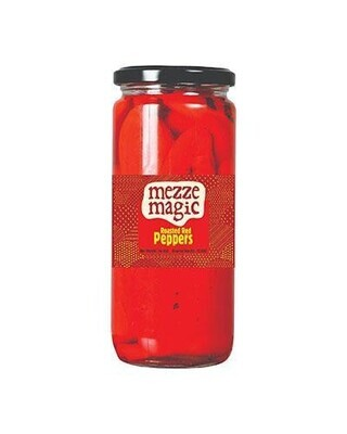 Mezze Magic Fire Roasted Red Peppers 11.3 oz