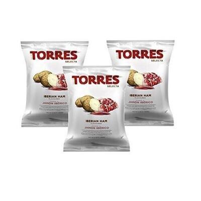 Torres Iberico Ham Potato Chips 50g