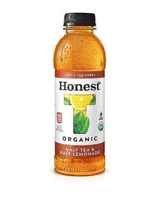 Honest Organic Half Tea Half Lemonade 16.9 fl oz