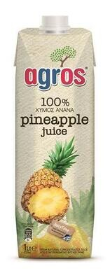 Agros Pineapple Juice 1 ltr