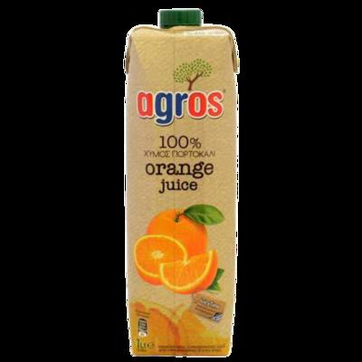 Agros Orange Juice 1 ltr