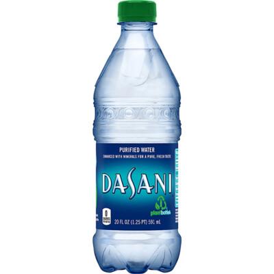 Dasani Purified Water 16.9 fl oz