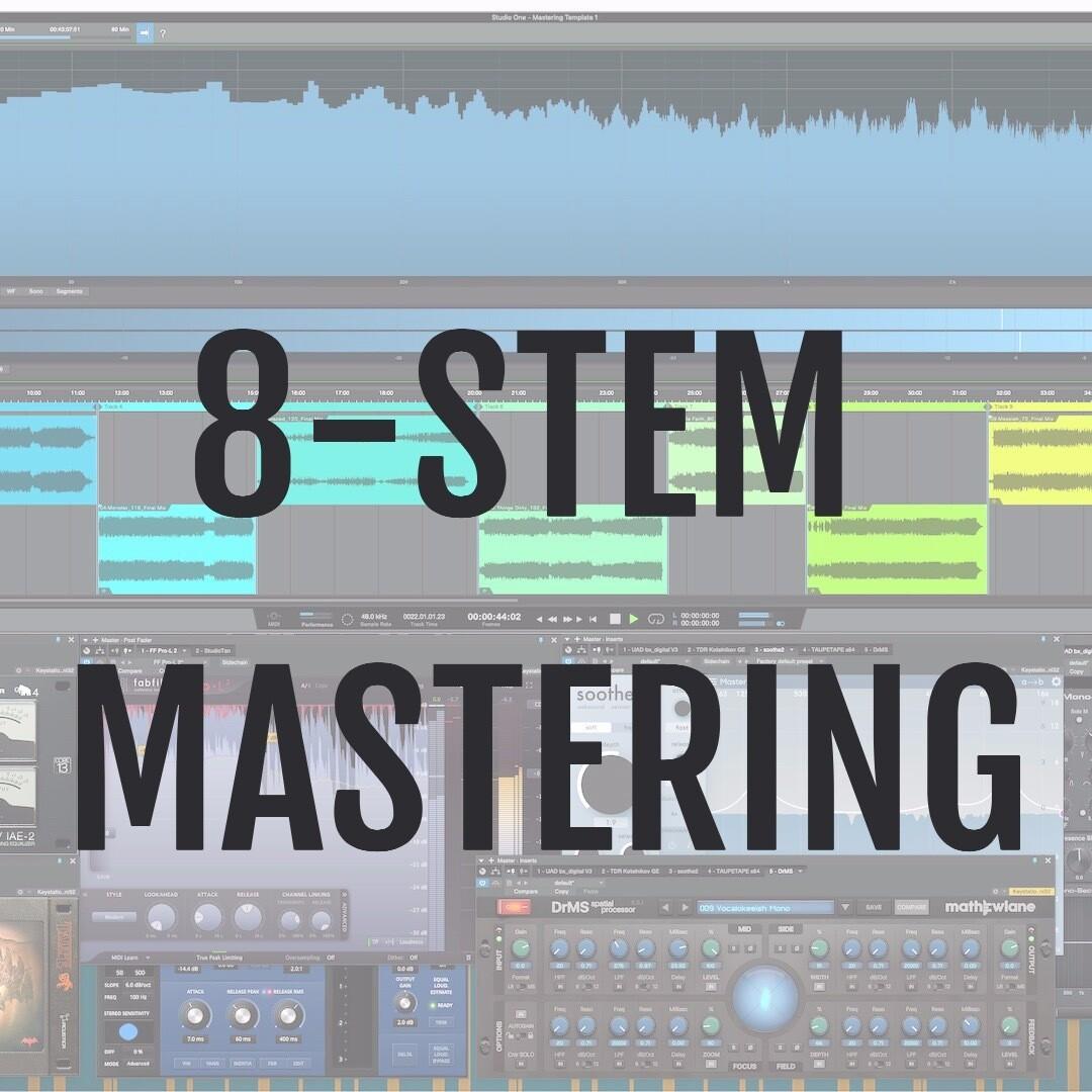 Online Mastering - 8 STEMS