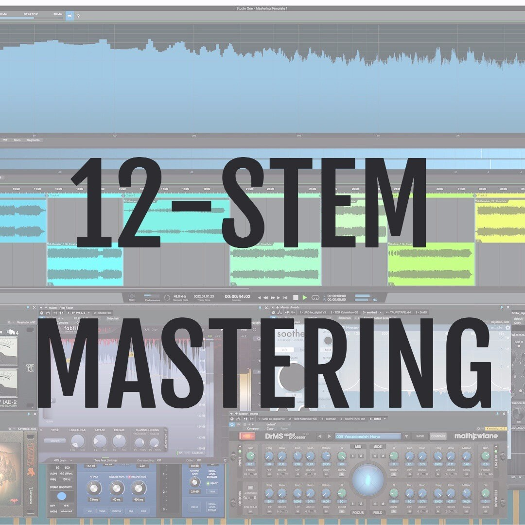 Online Mastering - 12 STEMS