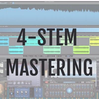 Online Mastering - 4 STEMS