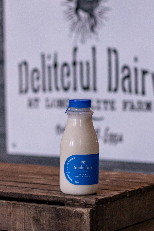 Whole milk- 12 oz