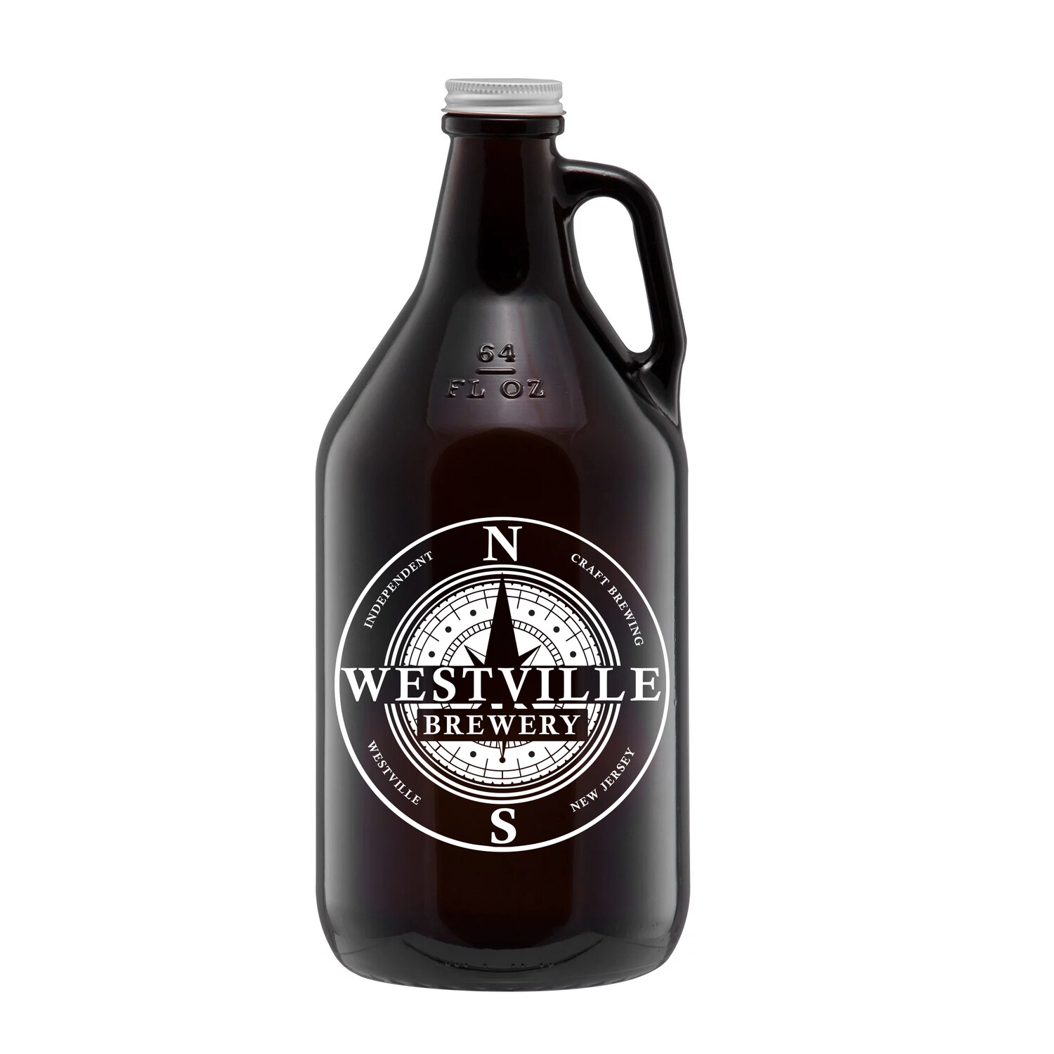 64 Oz. New Growler and Beer Purchase